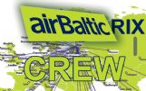 AIR BALTIC Riga - Crew Tag